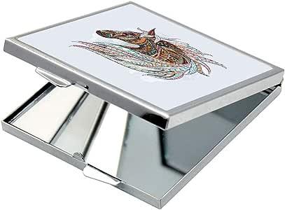Horse Drawing Printed Pocket Square Mirror