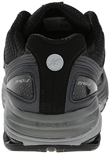New Balance Mens M1540V2 Optimum Control Running Shoe, Black, 10 6E US Black