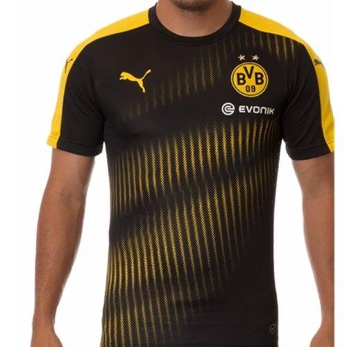 Puma Men's X-Large BVB Borussia Dortmund Black/Yellow Training Jersey – Sports Center Store