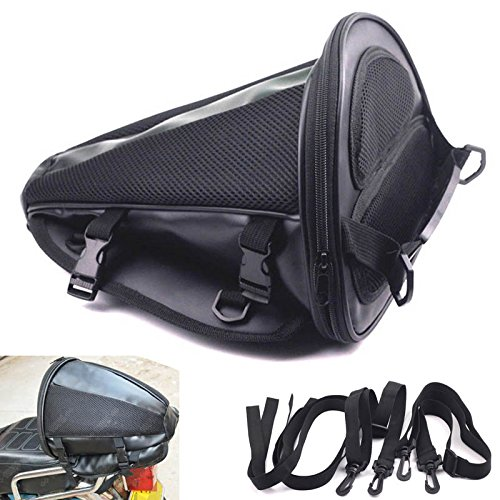 Motorcycle Back Seat Bag - 5