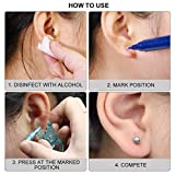 Self Ear Piercing Gun 2 Pack Disposable Self Ear