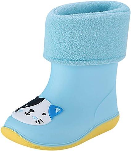 Toddler Kids Rain Boots Waterproof