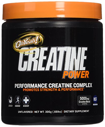 Oh Yeah! Creatine Powder, 300 Gram