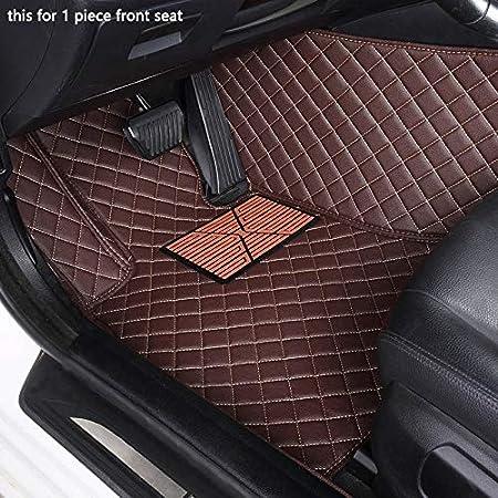 Kppto Custom car Floor mats for Hyundai ix25 ix35 kona i30 Leather All Models car mats Accessories Color : Blue