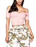 Subtle Flavor Women's Sleeveless Adjustable Strap Camouflage Lace up Front Long Pant Jumpsuit Romper Overalls Pink Small