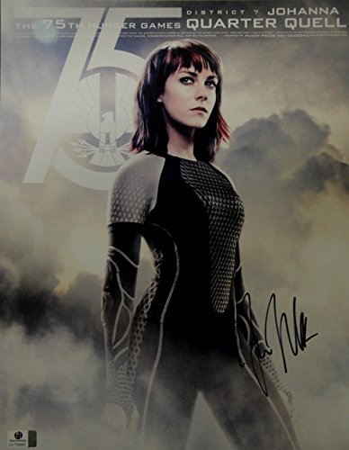 (Jena Malone Hand Signed Autographed 11x14 Photo Sexy Hunger Games GA 758865)