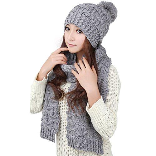 Winter Girls Scarf Women Knitted