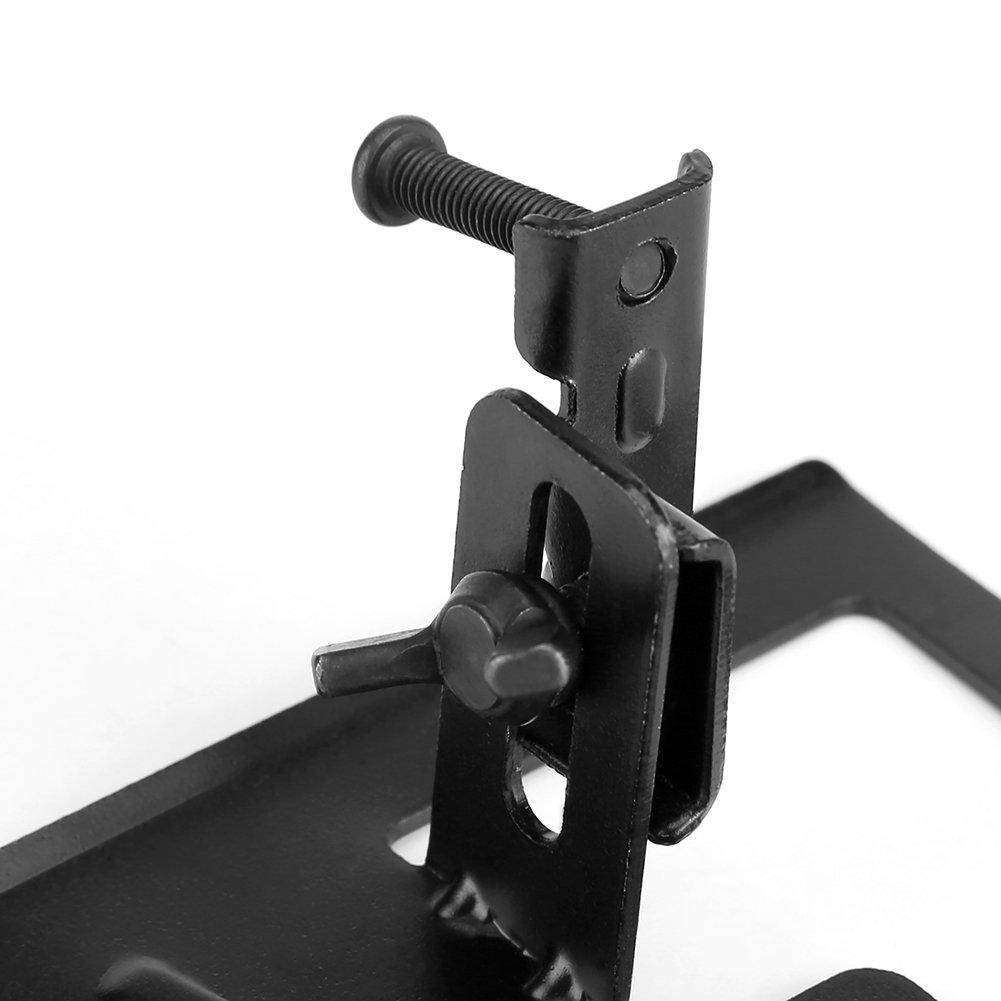 SOONHUA Steel Angle Grinder Bracket Thickened Angle Grinder Holder Cutting Machine Base 2-3cm Adjustable