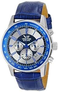 Vostok-Europe Men's OS22/5611132 Gaz-14 Limo Quartz Silver Dial Watch