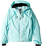 Obermeyer Kids Girl's Gray Jacket (Little Kids/Big Kids) Seaglass Large