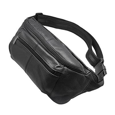 50%OFF Genuine Leather waist bag fanny pack Adjustable Belt strap Casual shoulder bag Hip Pouch Outdoor Day bag