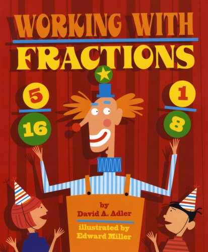 working with fractions book for kids