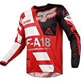 Fox Racing 180 Sayak Mens Off-Road Motorcycle Jersey - Red/X-Large