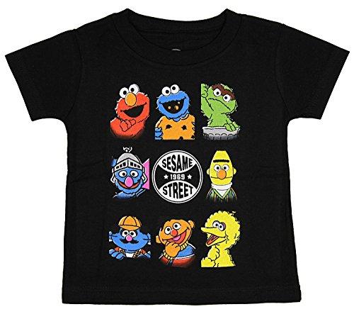 Sesame Street Baby Boys' Bunch Character T-Shirt (18M) (Youth Time Big T-shirt)