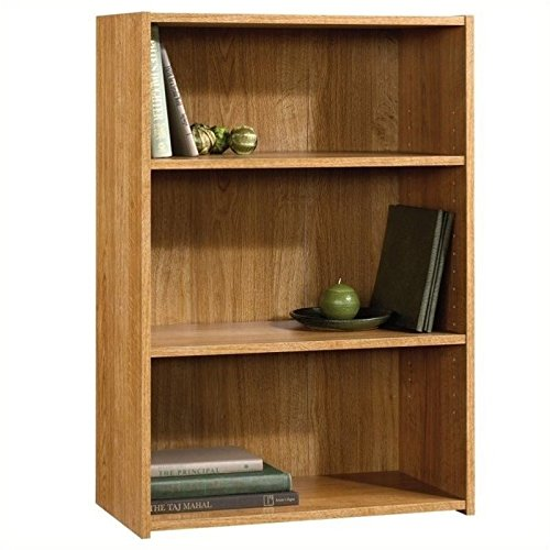 Shelf Bookcase Bookshelf (Sauder Beginnings 3-Shelf Bookcase, Highland)