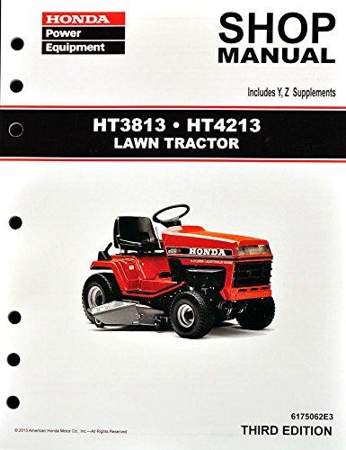 Honda Ht3813 Ht4213 Lawn Tractor Mower Service Repair Shop