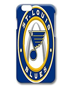 custom and diy for iphone 6 3D NHL St. Louis Blues logo blue background by jamescurryshop by kobestar