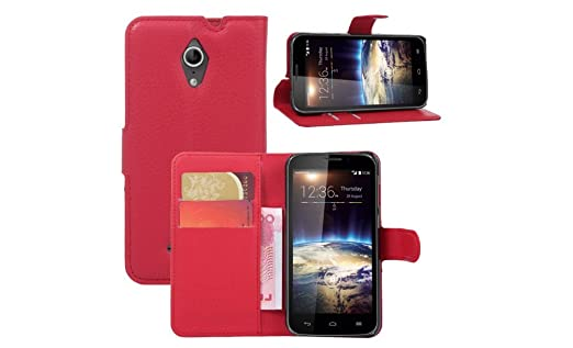 Leather Case for Vodafone SMART 4 turbo Wallet Cases Folio Book Cover with Kickstand Credit Card