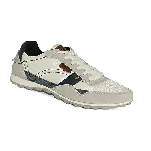 Lois - Zapatillas Casual Lois Hombre Blanco 42: Amazon.es: Zapatos y complementos
