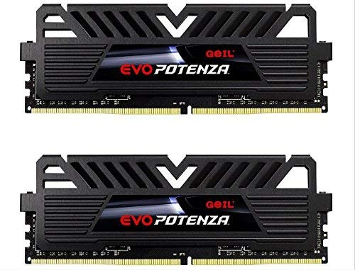 - GeIL 16GB (2 x 8GB) EVO POTENZA DDR4 PC4-24000 3000MHz 288-Pin Desktop Memory Model GPB416GB3000C16ADC