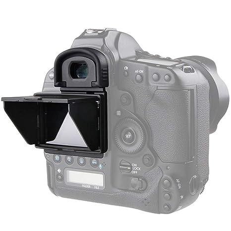 Market&YCY 1DX Mark I/II Protector de Pantalla Sun Shade, cámara ...