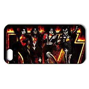 Cool iphone 5 5S Back Case Cover Protector- Music Band KISS-08