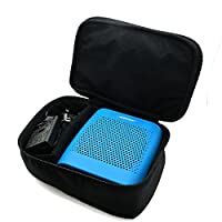 co2CREA(TM) for Bose Soundlink Color Wireless Bluetooth Speaker Soft Nylon Carry All Carrying Travel Storage Case Bag (Nylon_Black)