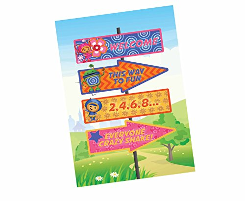 Calling All Umizoomi Friends! Team Umi Zoomi Party Supplies Invitations Decor (Poster) ()