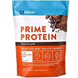 Chocolate Beef Paleo Protein Powder- Keto Collagen Low Carb Ketogenic Diet Supplement Vital for Caveman & Carnivore Nutrition of Ancient Source. Best as Gelatin Muscle Meat Proteins Drink. Equip Foods
