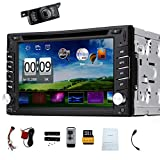 Hot sale 2din Wince 6.0 car dvd player With GPS Nav audio stereo Bluetooth Camera in dash car cd player FM car radio Free 8GB map