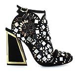 Kat Maconie Luxury Fashion Womens Sandals Winter Black