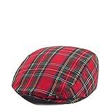 Summer-lavender-Berets Beret Women Vintage Jazz Hat Casual Flat Cap Plaid Hats for Boina,Red