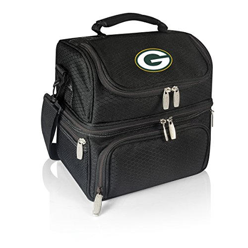 NFL Green Bay Packers Digital Print Pranzo Personal Cooler, One Size, Black by PICNIC TIME
