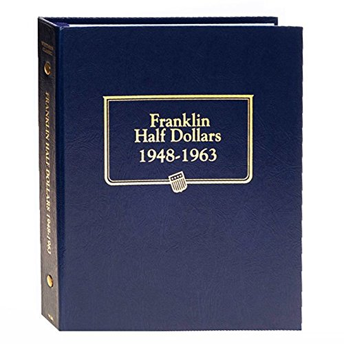 Whitman US Franklin Half Dollar Coin Album 1948 - 1963 #9126 ()