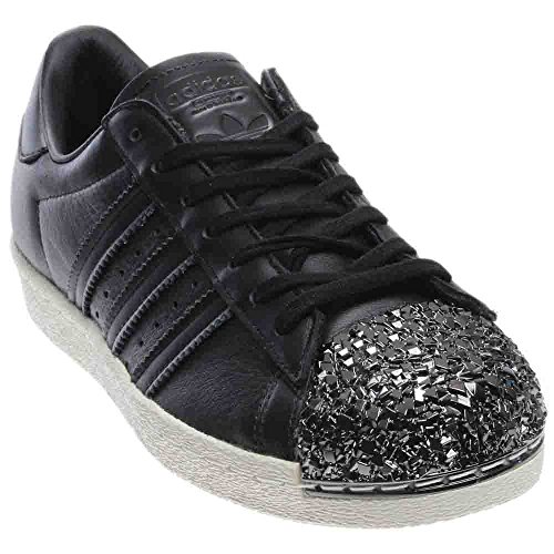 Adidas Originals Kvinders Superstjerne Metal Tå W Skate Sko Sort ntwaX