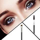Duo Eyebrow Brush - KINGMAS Professional Angled Eye