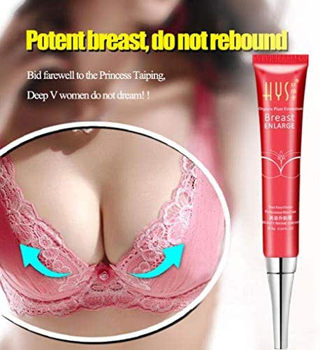 Cream for Breast Enlargement,Vanvler Breast Enhancement Enlargement Cream Smooth Big Bust Large Curvy Breast Wild Yam (Pink)