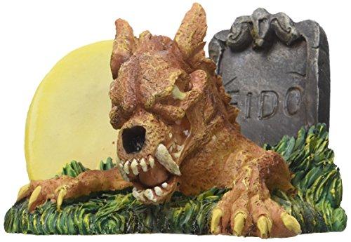 Penn Plax Zombie Werewolf Aquarium Ornament, 4.1 by 3 by 3-Inch (Aquarium Decor Zombie)