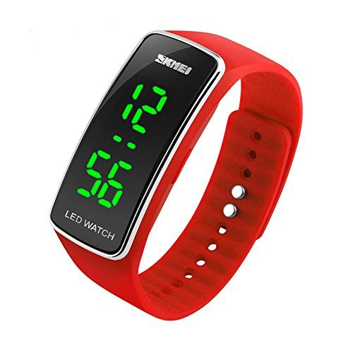 Skmei New LED Wristbands Watch Student Child Sports Fitness