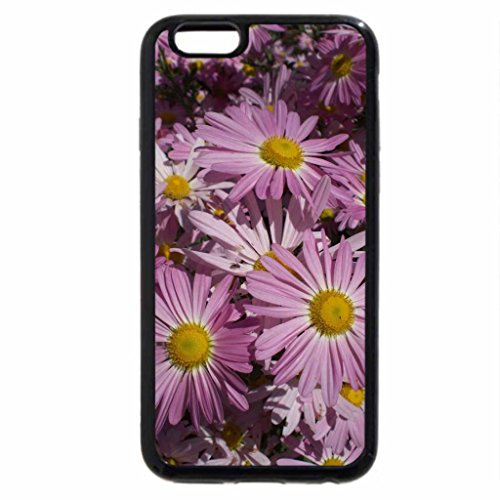 iPhone 6S / iPhone 6 Case (Black) Pink Daisys