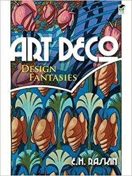 Art Deco Design Fantasies (Dover Pictorial Archive)
