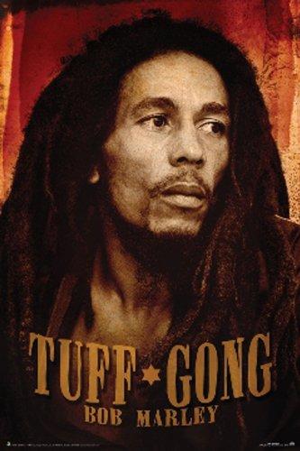 Bob Marley - Tuff Gong Poster Music Art Print Recording Studio
