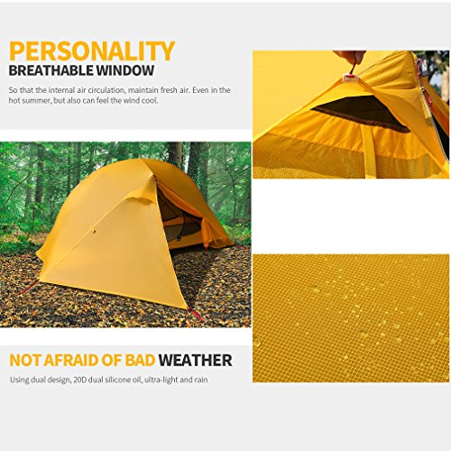 iUcar Portable Camping Tent Cot Off Ground Tent with Carring Bag by iUcar (Image #5)