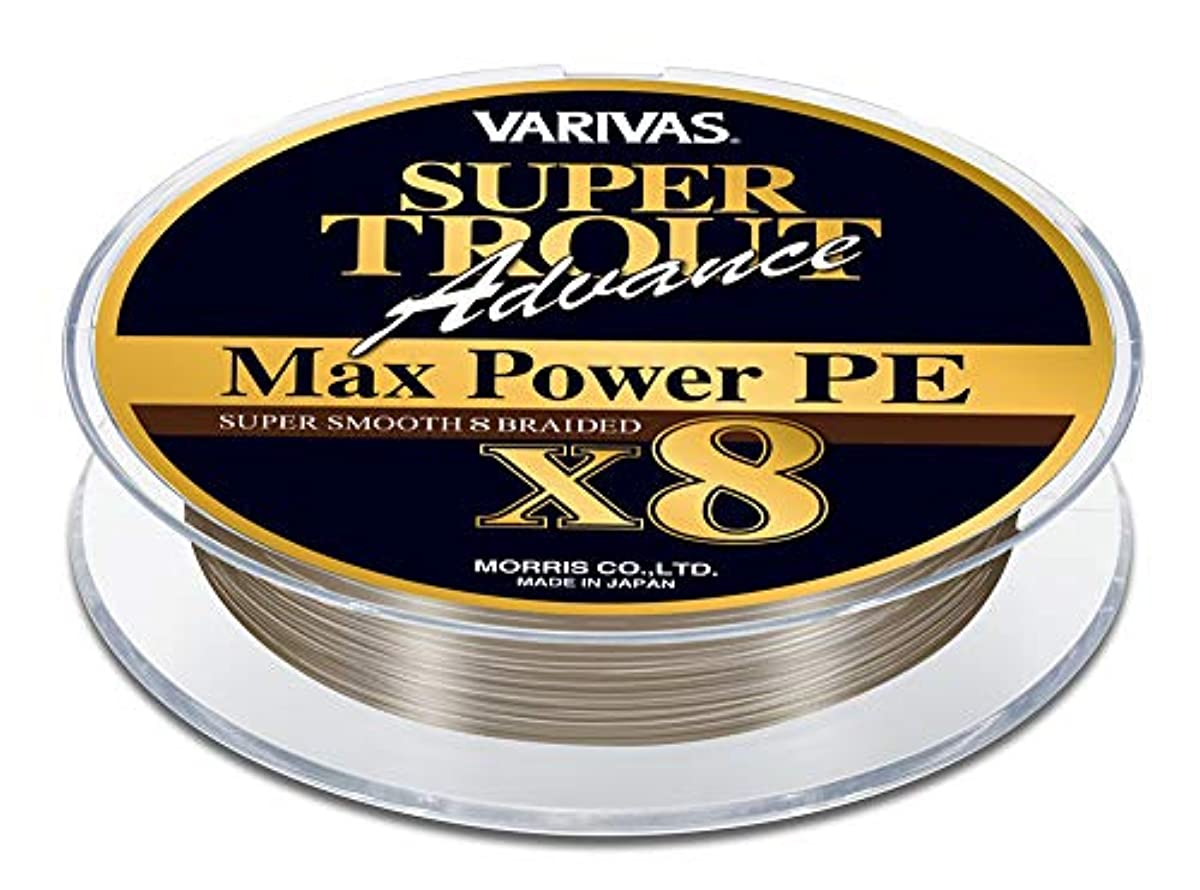[해외] VARIVAS바리바스 라인 슈퍼 트라우트송어-송어 어드밴스 맥스 파워PE X8 150M