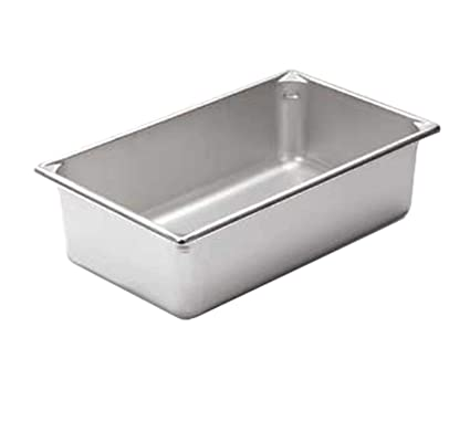 Amazoncom Deep Full Size Super Pan II Stainless Steel Steam - Cafeteria steam table