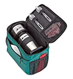 AdirChef Grab N Go Travel Pouch - Multi-Compartment for Mult-Storage Use, Perfectly Designed for AdirChef Personal Coffee Maker for Travelling, Outdoor, On the Go & Camping