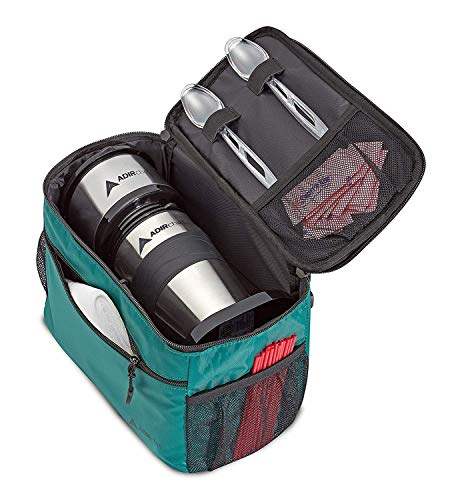 AdirChef Grab N Go Travel Pouch - Multi-Compartment for Mult-Storage Use, Perfectly Designed for AdirChef Personal Coffee Maker for Travelling, Outdoor, On the Go & Camping by AdirChef