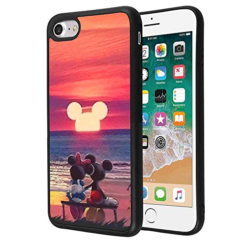 DISNEY COLLECTION Mickey Mouse Sunset Compatible for Apple iPhone 7 and iPhone 8 [4.7-Inch]