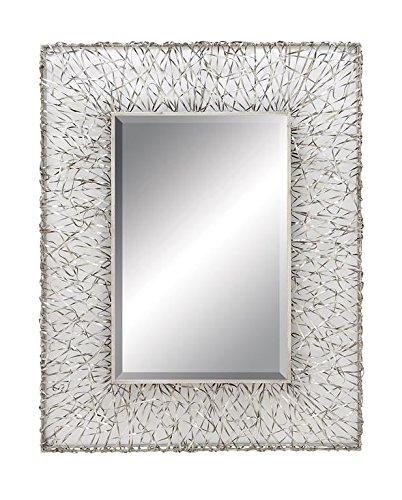 """Deco 79 Deco 79 Metal Mirror, 42 x 32"""""""