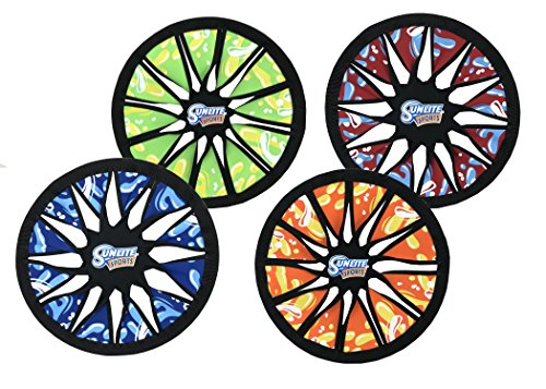 Sunlite Industrial SOAK Water Series Spin Twist Frisbee, Colors Vary ()